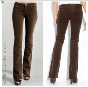 AG Adriano Goldschmied Bootcut Corduroy Jeans